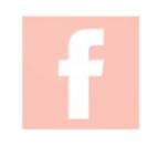 logo Facebook en rose avec lien qui pointe vers la page de la boutique Creative Pink, boutique atelier de créateurs en mode, accessoires, bijoux et maroquinerie à 10 rue Cujas de Toulouse
