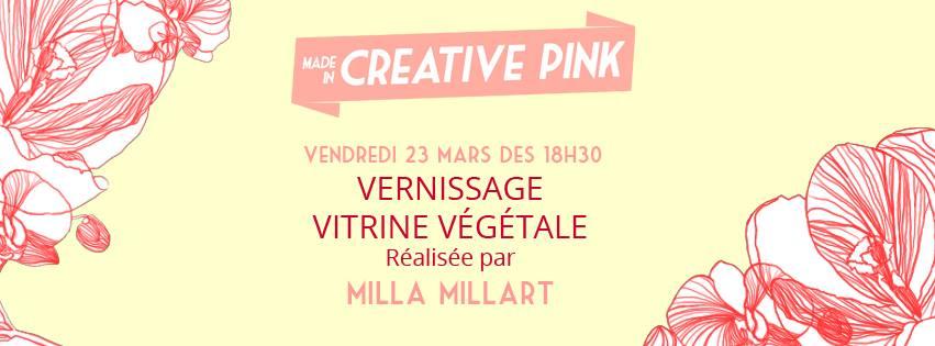 Vernissage créatrice végétale Milla Millart à Toulouse