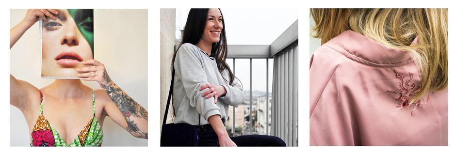 Cécile Chine - Créatrice de Mode Upcycling Paris