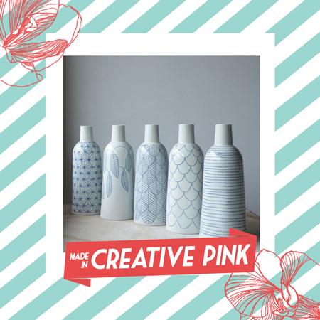 illustration Creative Pink marché créateur toulouse