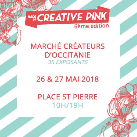 Marché de créateurs à Toulouse, Place Saint Pierre les 26 et 27 mai durant la fête des mères