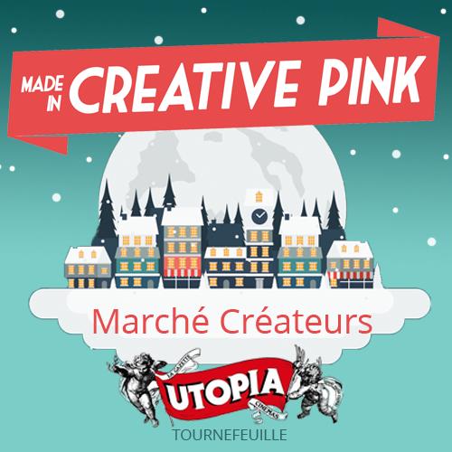 Creative Pink marché créateur cinéma Utopia Tournefeuille